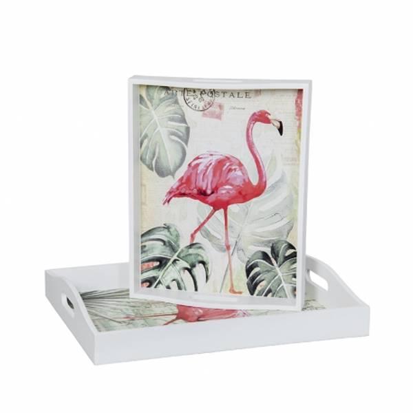Bilde av Fat 2 stk. Flamingo
