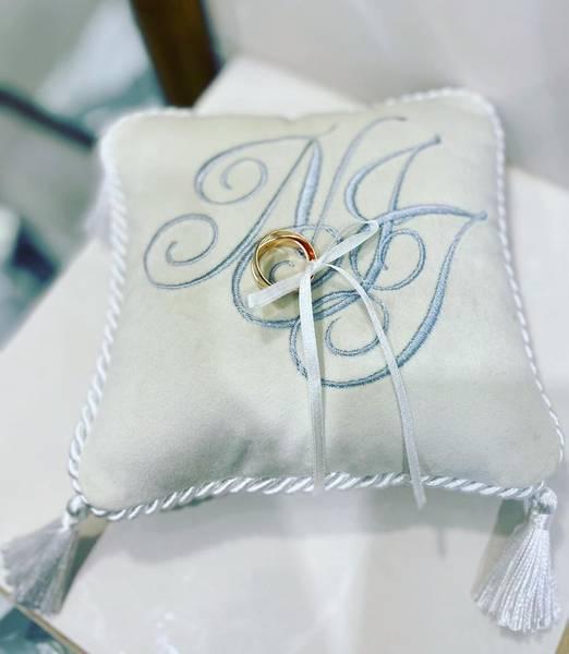 Bilde av Dekorpute til gifteringer og smykker