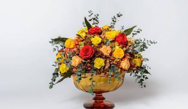 Bilde av Blomster komposisjon III