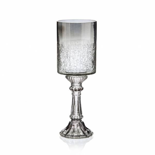 Bilde av Lysestake aldret glass H38