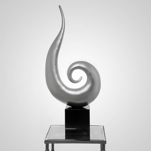 Skulptur Abstrakt Dråpe