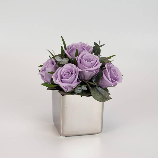 Bilde av Preserverte roser Lilac S