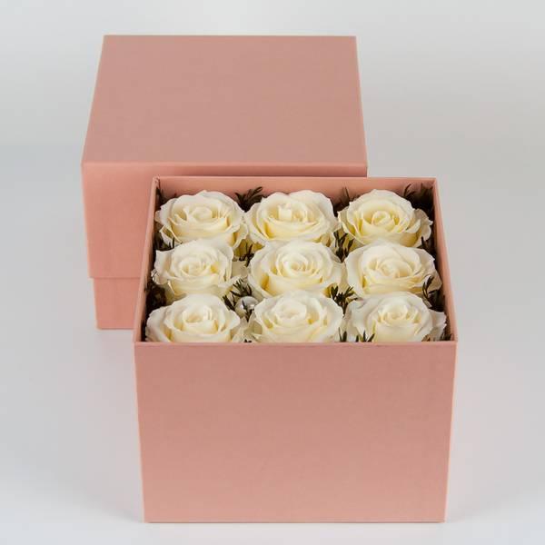 Bilde av Preserverte roser White pearl