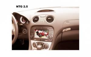 Bilde av TV-i-fart Mercedes m/ Command NTG 2.5