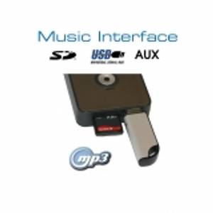 Bilde av Digital Music Interface - USB/SD - Mini ISO - Audi/VW