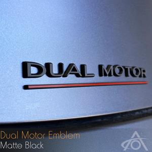Bilde av Dual Motor emblem til Tesla