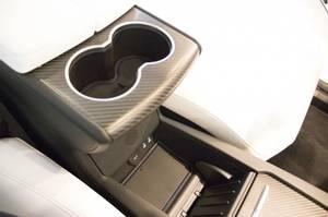 Bilde av Gummimatter - koppholdere og midtkonsoll- Tesla Model X