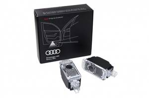 Bilde av Logolys / Puddle lights Audi