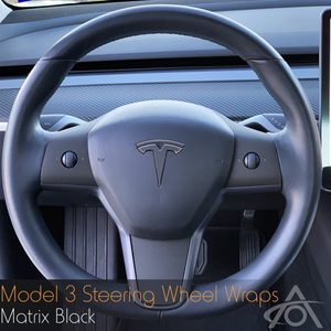 Bilde av Folie til ratt - Tesla Model 3 / Y