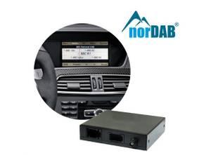 Bilde av norDAB Premium DAB-integrering Mercedes