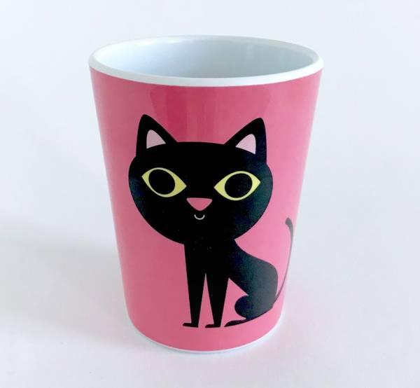 Bilde av Krus: KATT - ROSA / Pink Cat