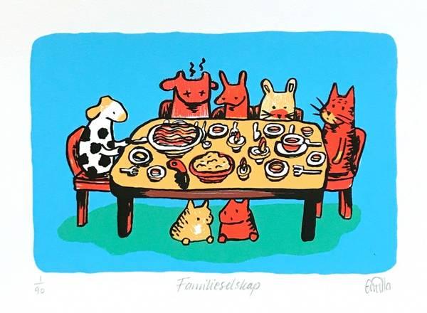 Bilde av Familieselskap