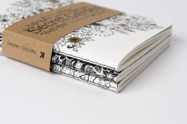 Bilde av Notisbøker, Secret Garden