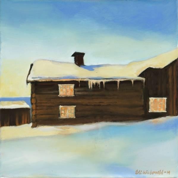 Bilde av Doble kunstkort: Hartzgården,