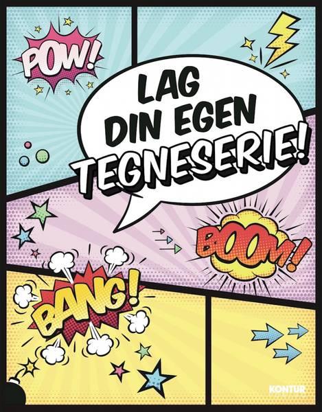 Bilde av Lag din egen tegneserie