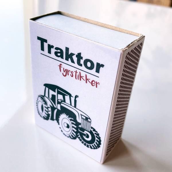 Bilde av Fyrstikkeske, traktor