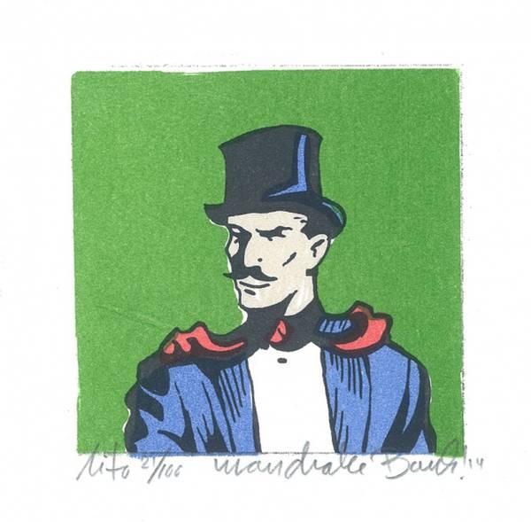 Bilde av Portrett av Mandrake. Bank!