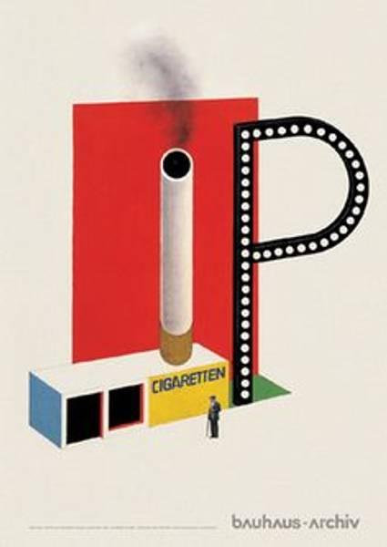 Bilde av Bauhaus-plakat: