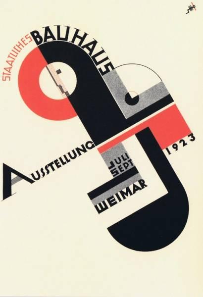 Bilde av Bauhaus-plakat: Ausstellung