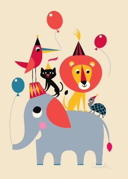 Bilde av Animal Party, plakat