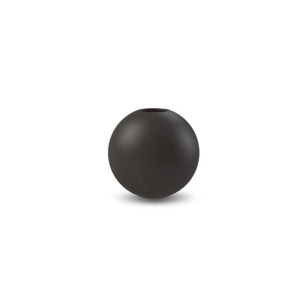 Bilde av Ball Vase  8 cm Black