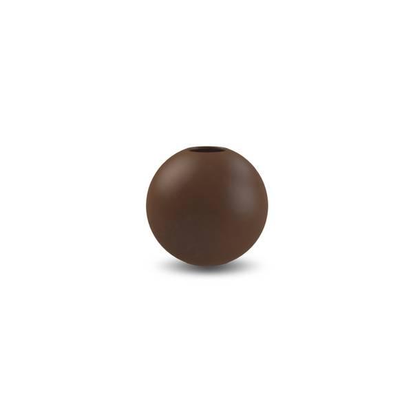 Bilde av Ball Vase  8 cm Coffee