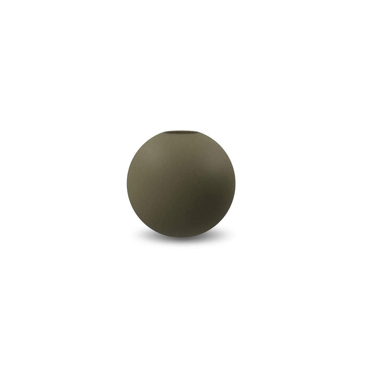 Ball Vase  8 cm Olive
