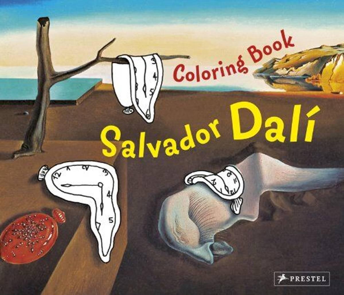 Coloring Book Salvador Dali