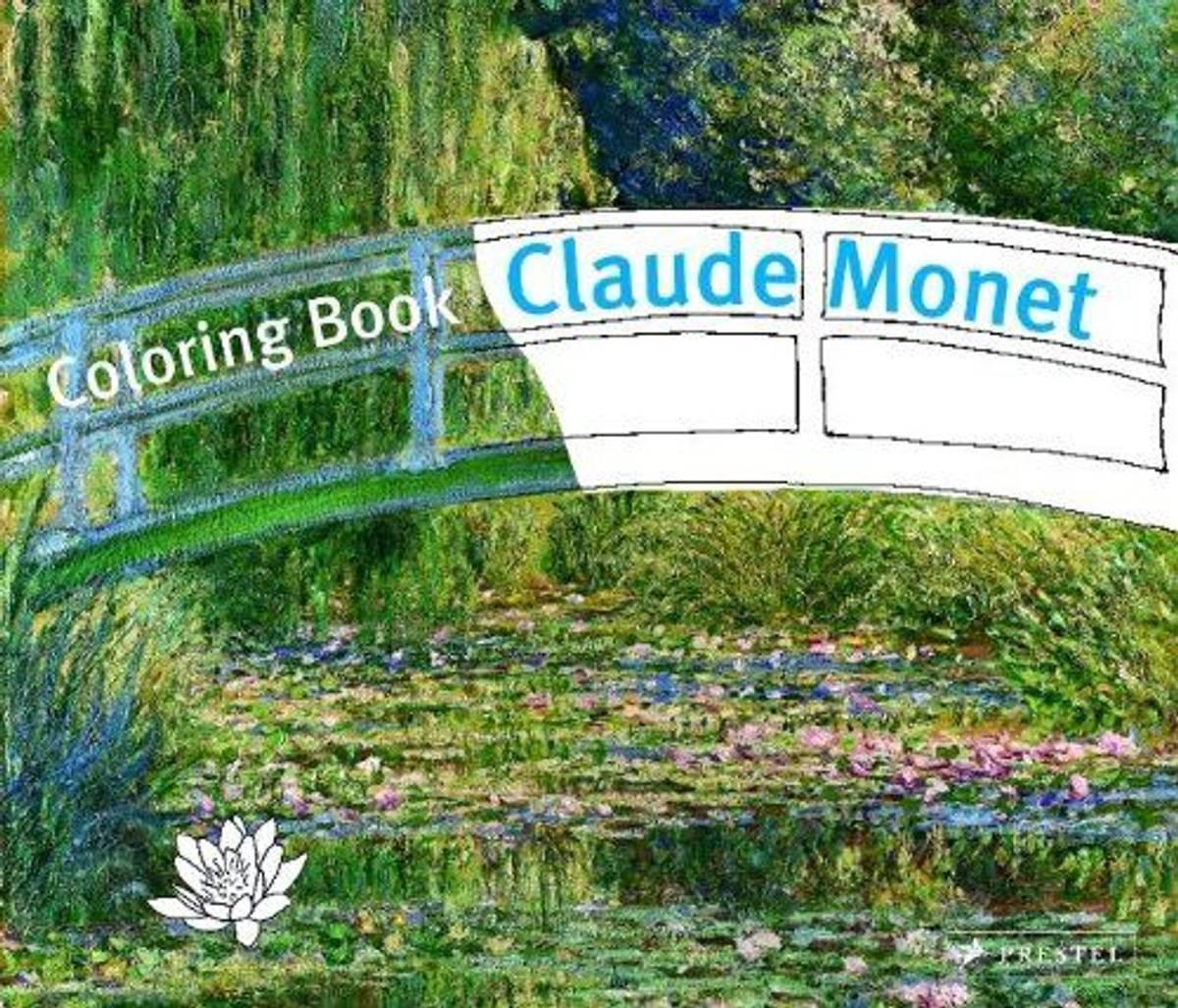 Coloring Book Claude Monet