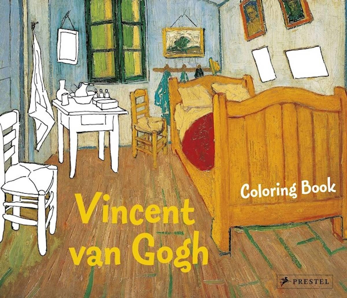 Coloring Book Vincent van Gogh