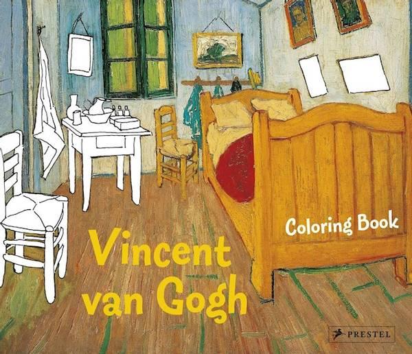 Bilde av Coloring Book Vincent van