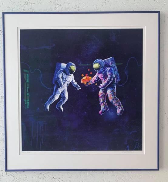 Bilde av Love is in the air- INNRAMMET
