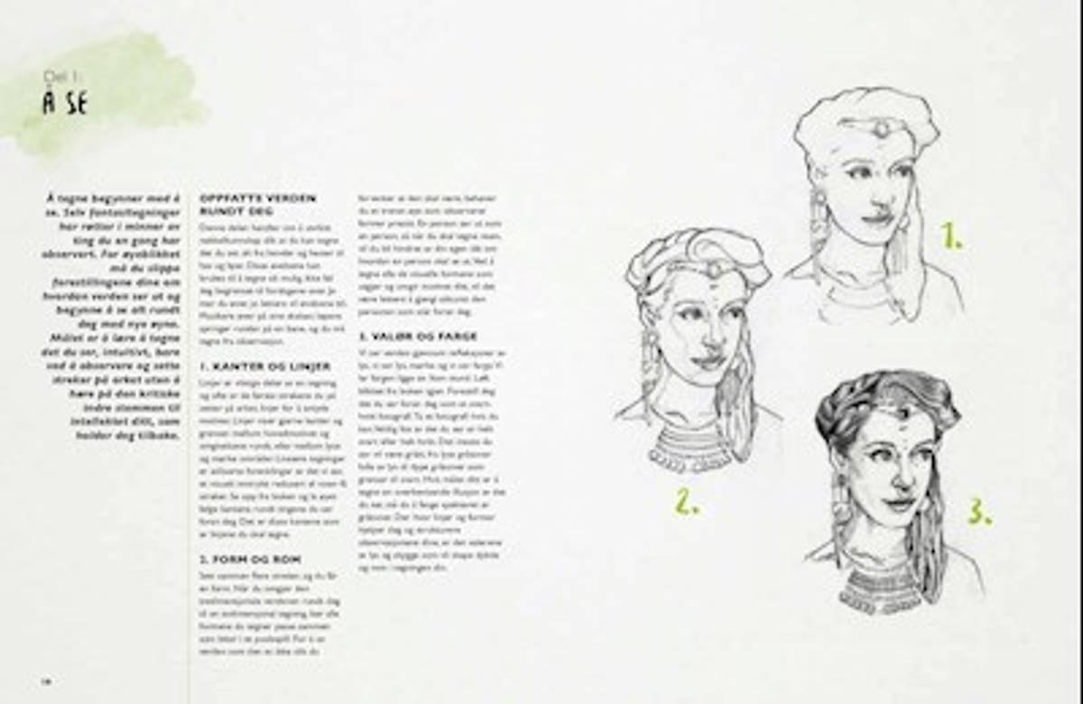 Denne boken vil lære deg å tegne!
