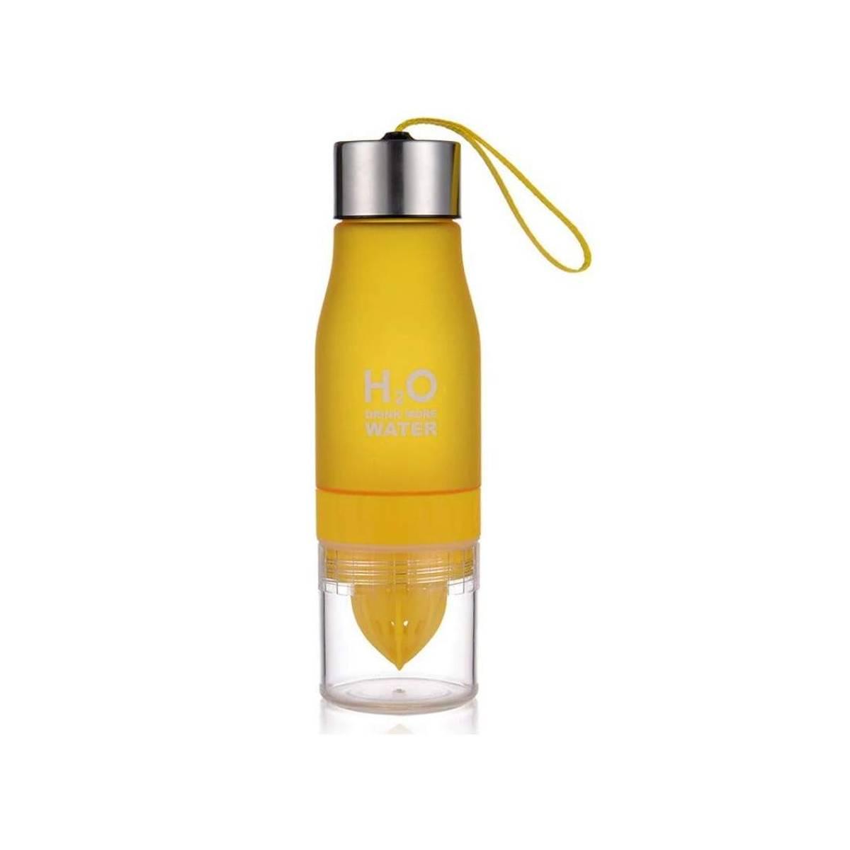 H2O Vannflaske med sitruspresse
