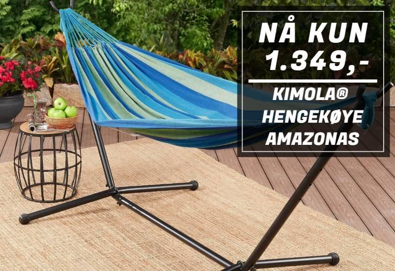 Kimola® bærbar hengekøye Amazonas