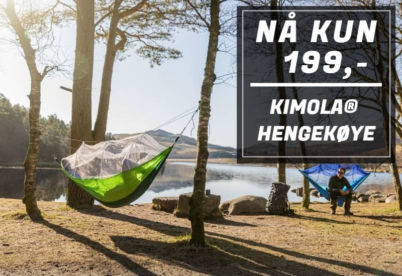 Kimola® hengekøye med myggnetting