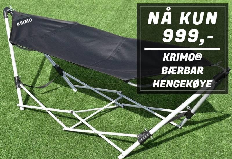 Krimo® bærbar hengekøye med stativ