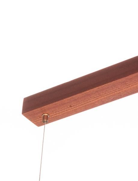 Taklampen SkateLamp,  sapele tre, bjørk eller hvit eik
