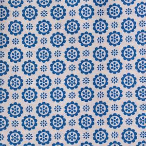 Flower sugar - blå blomster UTSOLGT