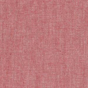 Chambray - sjattert rød