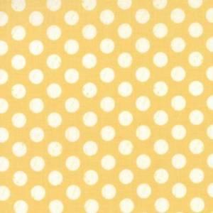 Solskinn - dotter på gul