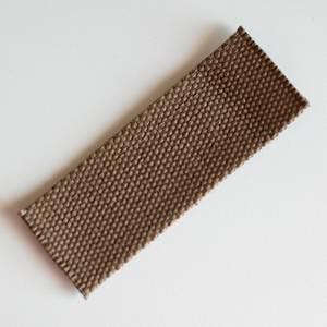 Webbing - brun 4cm