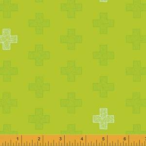 Good vibes only - bare pluss på grønn bunn - 50cm