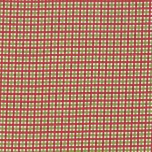 Rutenett i rødt og grønt  -  1m