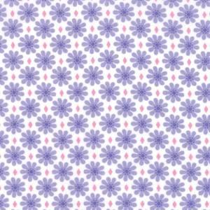 Good day - Lilla margeritter på hvit bunn