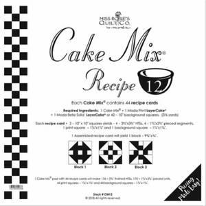 Cake Mix * - 12