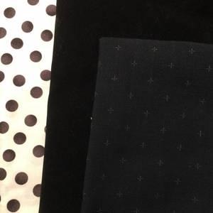 Lottes veske - svart ruskinn - utsolgt