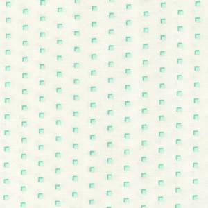 Bilde av Homestead creme med turkise kvadrater