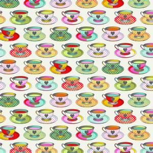 Bilde av Curiouser and Curiouser tea time, creme