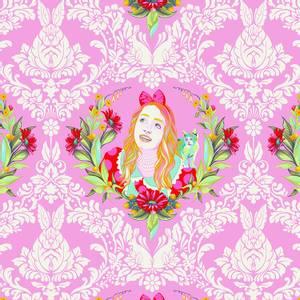 Bilde av Curiouser and Curiouser Alice, rosa